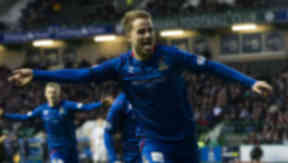 Andrew Shinnie Hearts v Inverness, January 2013