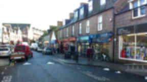 Theft: Peterhead town centre.