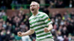 Dylan McGeouch, Celtic, February 2013.