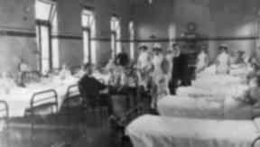Ruchill Hospital ward