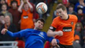 Dundee United captain Jon Daly is a target for Rangers boss Ally McCoist.