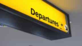 Travel: Most departures from Scottish airports were London bound.