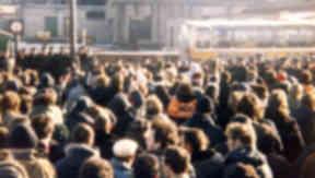 The scene at Polkemmet Colliery near Whitburn, West Lothian in 1984.