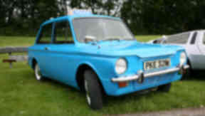 A Hillman Imp. The car built at the Rootes factory in Linwood, Renfrewshire, turned 50 on May 2, 2013.