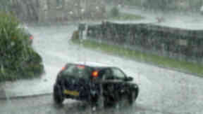 STORM: Drivers warned not to travel during severe weather