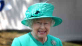 Queen at Robin Chapel in Edinburgh.