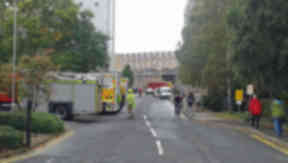 Chemical incident at King's Building, Edinburgh on October 3, 013.