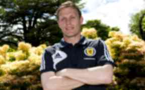Scotland's Steven Hammell speaks to the press about the national side's upcoming clash against Croatia.