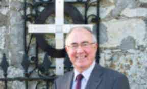 The Reverend Dr Angus Morrison, who has been selected as the Moderator Designate of the General Assembly of the Church of Scotland. Image from the Kirk. 29/10/13