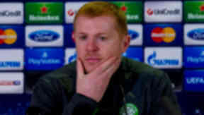 Celtic manager Neil Lennon ahead of the UEFA Champions League home match with AC Milan.