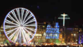 Edinburgh: More than a million people attended festive events.
