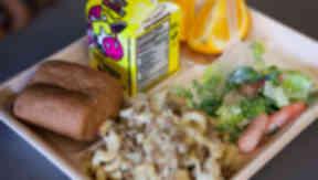 School dinner school meal close good generic quality image