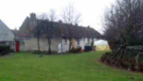 Fernieside Drive, Edinburgh, where a man's body was found in the street on December 27, 2013.