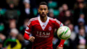 Shaleum Logan in action for Aberdeen