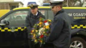 Kessock ferry disaster flowers February 24 2014