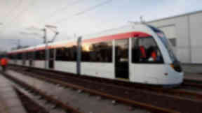 Trams: Extension will cost over £200m.