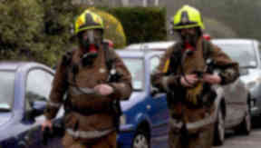 House blaze: Three cats killed in fire.