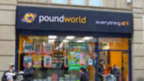 Poundworld: 242 jobs will be axed.