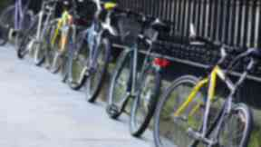 Theft: More than 60 bicycles were stolen.