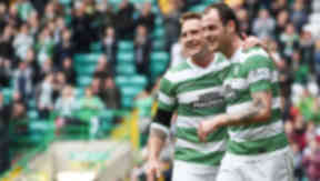 Anthony Stokes celebrates scoring against Inverness CT.
