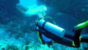 Generic picture of scuba diving / diver. Creative commons picture quality.