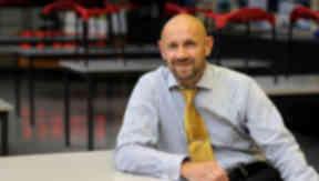 Derek Curran head teacher of Castlebrae Community High School, Edinburgh.