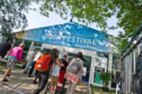 Festival: Home Office said it welcomed artists.