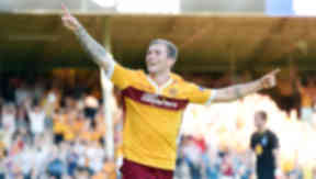 Josh Law scores on his debut for Motherwell