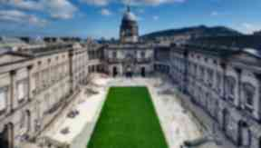 Edinburgh University old college quad