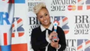 Emeli Sande: Wins Critics' Choice Brit Award.