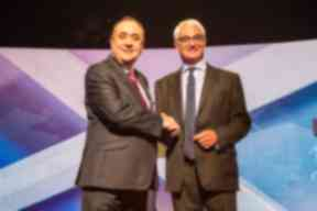 Alistair Darling and Alex Salmond STV debate August 5, 2014