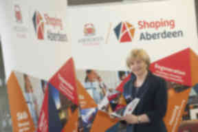 Jenny Laing: Nine councillors entered coalition (file pic).
