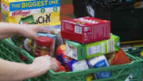 Foodbank poverty anonymous hands