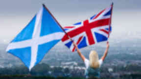 Union: Scotland will continue to be a member of the UK.
