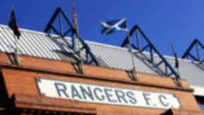 Ibrox: Fans urged to behave responsibly (file pic).