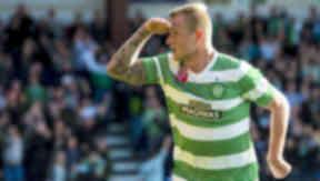 John Guidetti, Celtic, Ross County, Scottish Premiership, October 18 2014