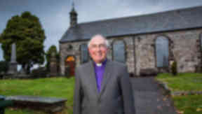 Reverend Dr Angus Morrison Moderator Designate of the General Assembly of the Church of Scotland.