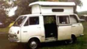 Sinclair's caravanette, where he raped the girls.