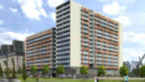 Glasgow Harbour new flats proposal architect's rendering uploaded December 2 2014