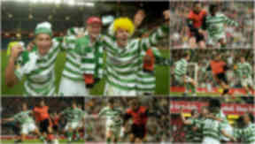 Coca Cola Cup Final: Celtic v Dundee United 1997.