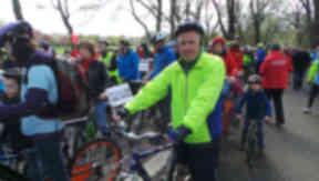 Willie Rennie Pedal on Parliament