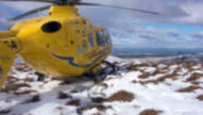 Air Ambulance: Potentially faulty part was