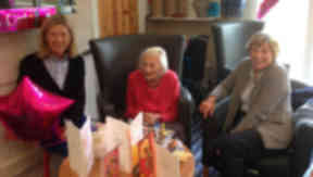 Margaret Phillips who turned 103 on June 22, 2015.