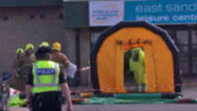 East Sands Leisure Centre In St Andrews Evacuated After Chlorine Leak