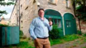 Holyrood Park Distillery owner David Robertson at Engine Shed