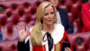 Baroness Mone of Mayfair Michelle Mone in House of Lords quality news iamge uplaoded October 15 2015