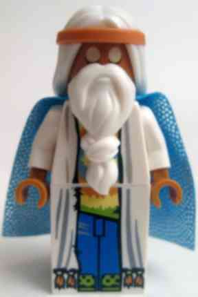Lego Movie: Warren says he is most like Vitruvius.