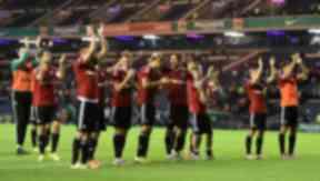 Legia Warsaw celebrate