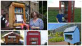 Little libraries: Scots open free book swaps using small spaces.