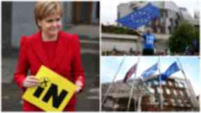 62% of Scots voters want to remain in the EU.
